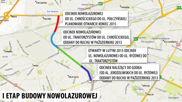 Wybudują kolejny odcinek ul. Nowolazurowej tvn24.pl