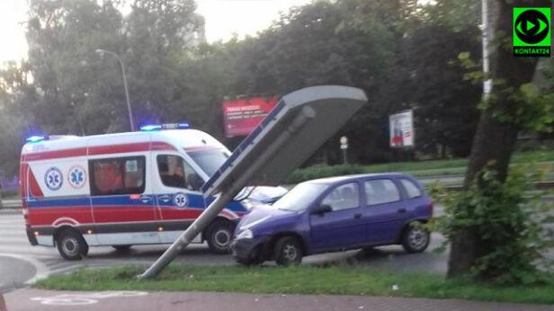Kolizja w al. Krakowskiej Marek / Kontakt 24