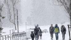 Zima w Zakopanem (Grzegorz Momot/PAP)