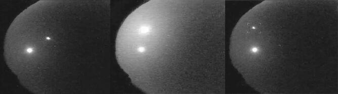 Błyszczący obiekt eksplodował 60 km nad ziemią