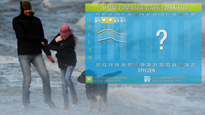 Pogoda na 16 dni: styczeń udaje marzec, zimy nie widać