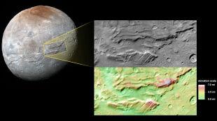 Na Charonie mógł być pradawny, podpowierzchniowy ocean