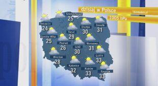 Dorota Gardias o pogodzie w piątek