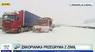 Zator na Zakopiance (TVN24)