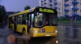 Burze nad Katowicami (TVN24)