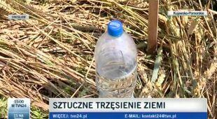 Sztuczne trzęsienie ziemi w Unisławiu w Kujawsko-pomorskim